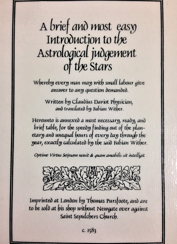 Star Media/Astrological Books and Contents